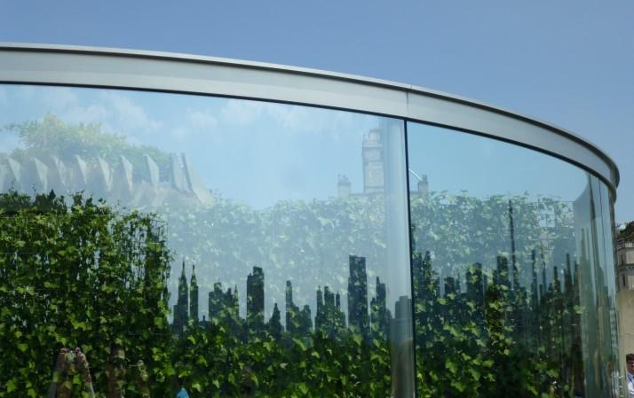 Dan Graham Skyline Reflection