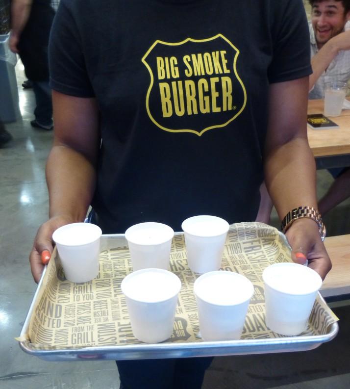 Milk Shake Shots