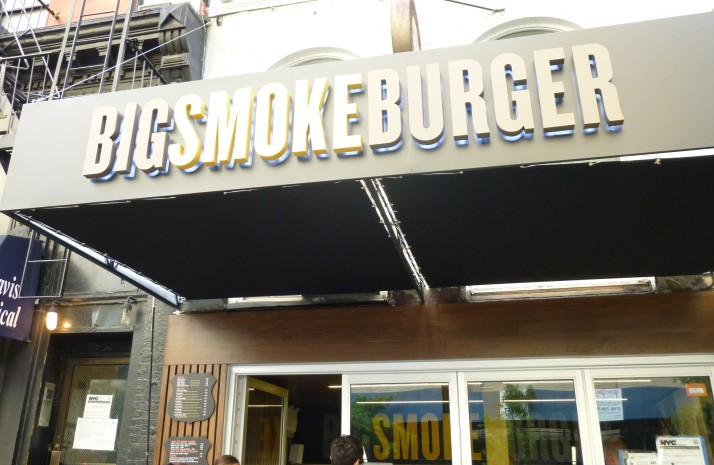 Big Smoke Burger Storefront