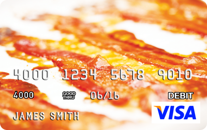 Bacon Visa Card