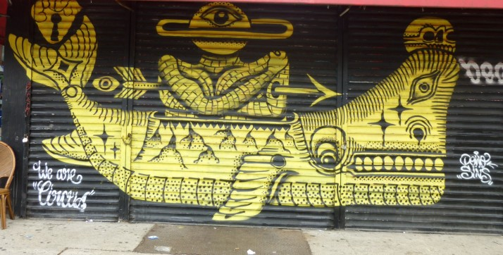 Whale Boat Mural