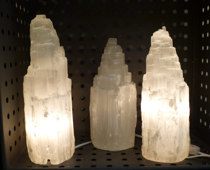 Rock Crystal Lamps