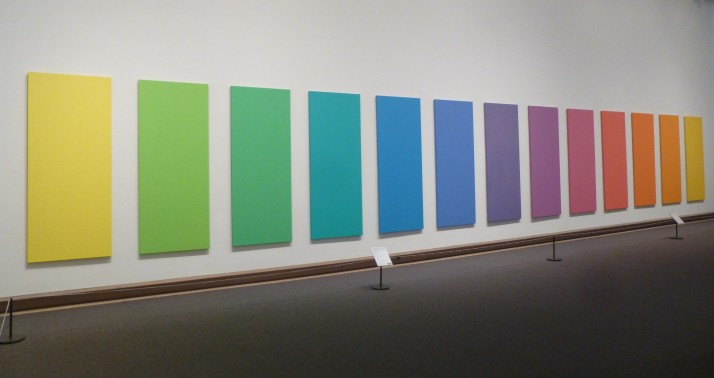 Ellsworth Kelly Spectrum V