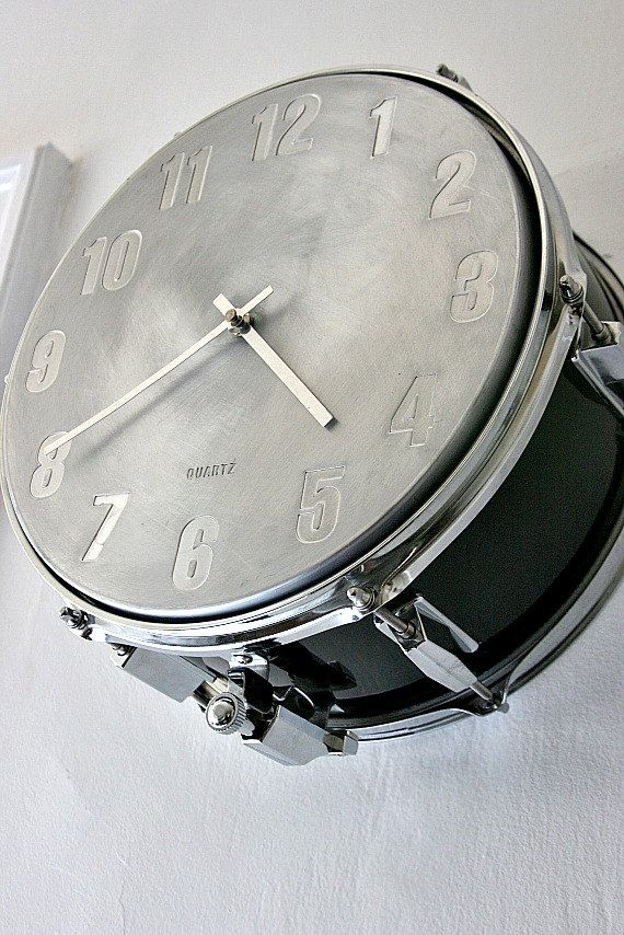 Snare Drum Wall Clock