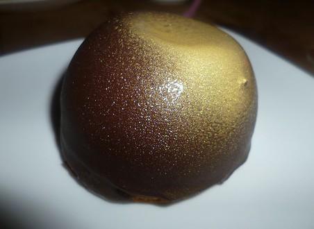 Caramel Mousse Bombe