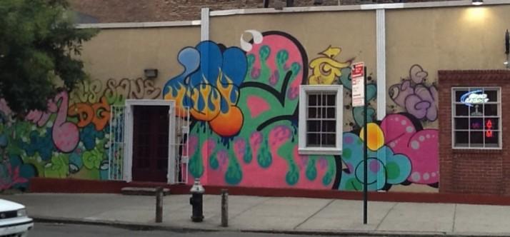 Ghost & Giz Mural