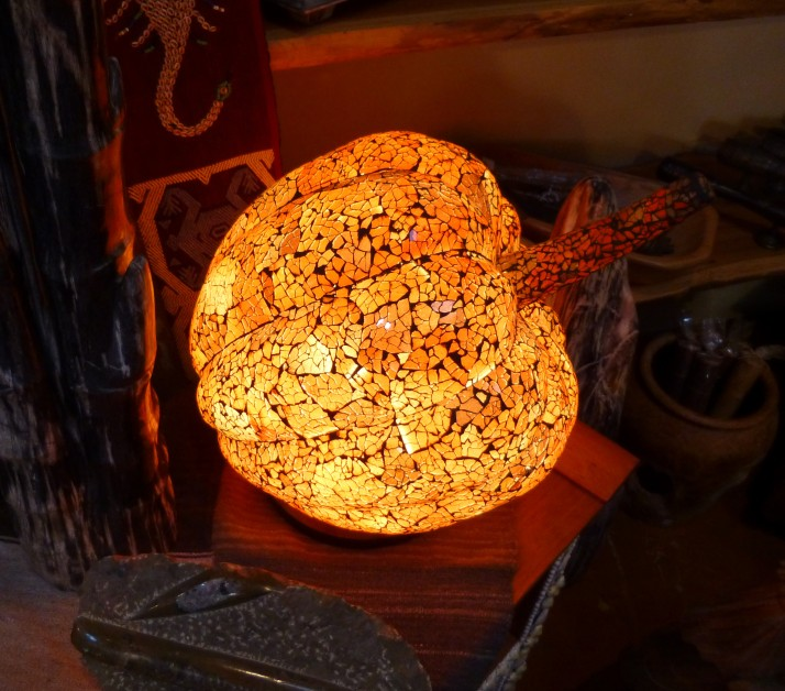 Pumpkin Lamp