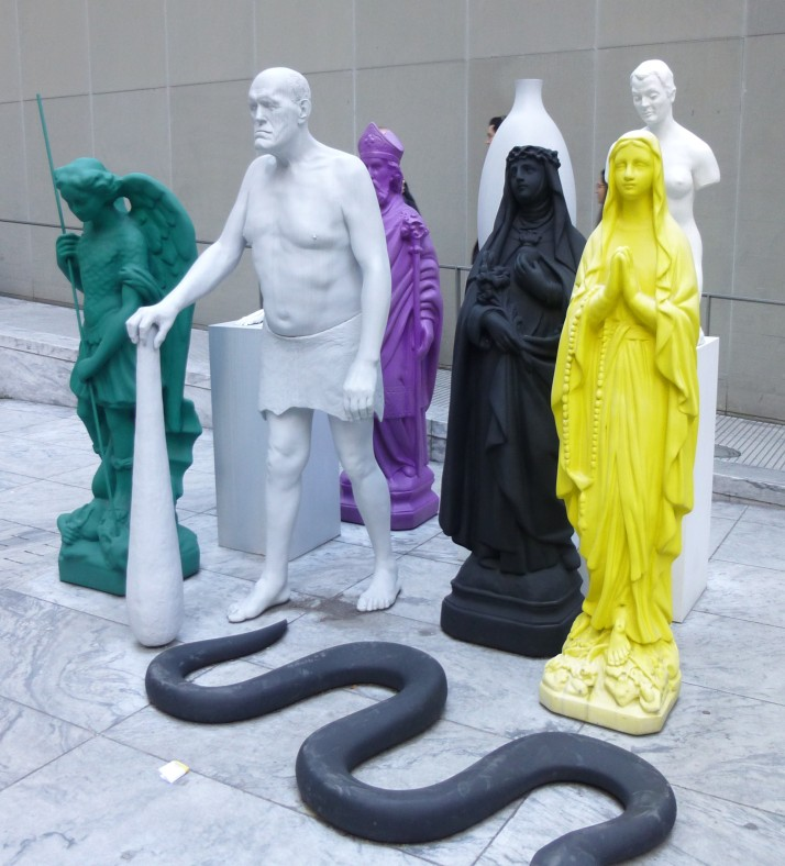 Group of Figures By Katharina Fritsch