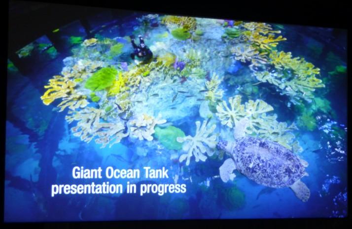 Giant Ocean Tank Presentation