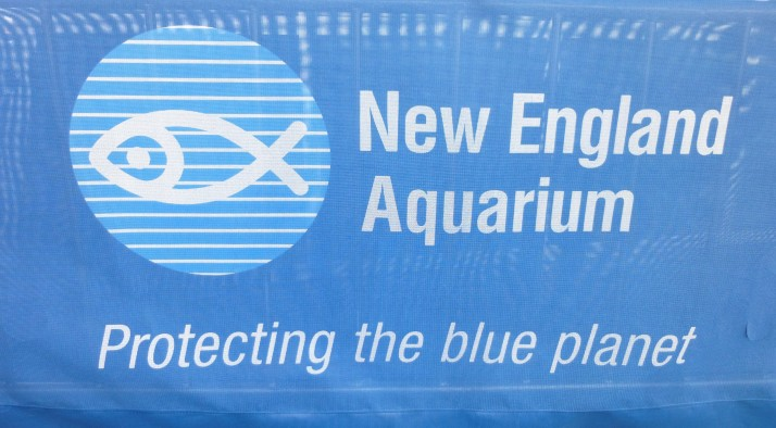 New England Aquarium Signage