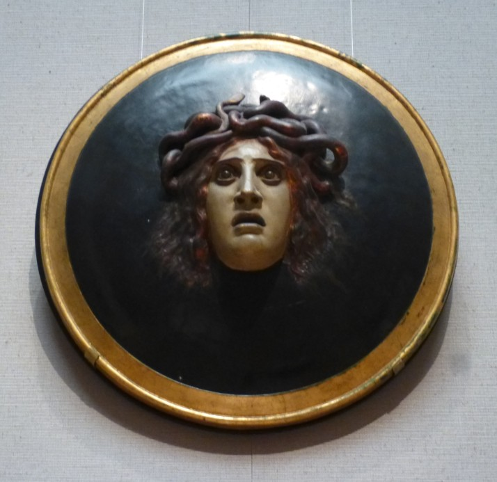 Head of Medusa By Arnold Bocklin