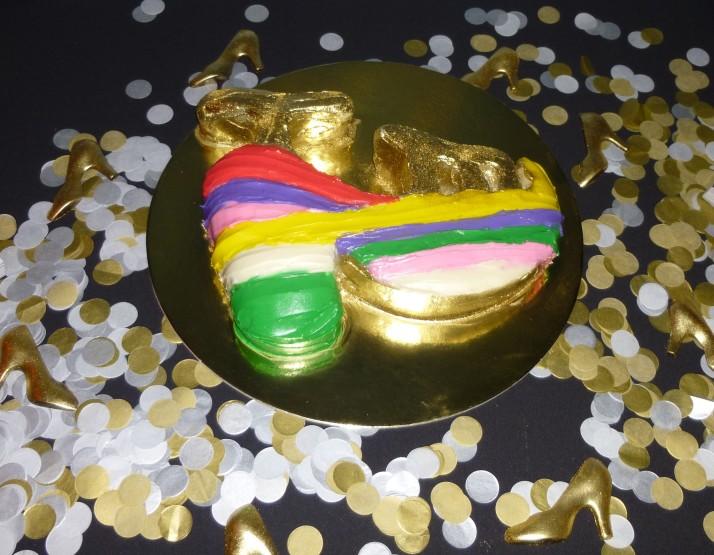 Ferrragamo Platform Cake