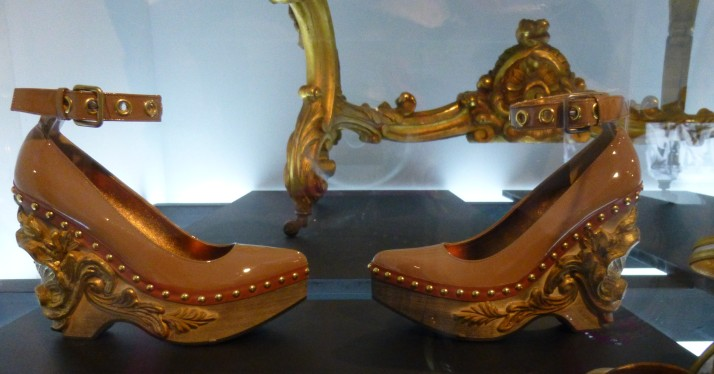 Ornate Gold Shoes