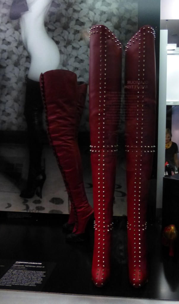Red Fetish Boots