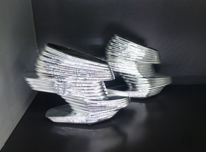 Silver Guggenheim Shoes