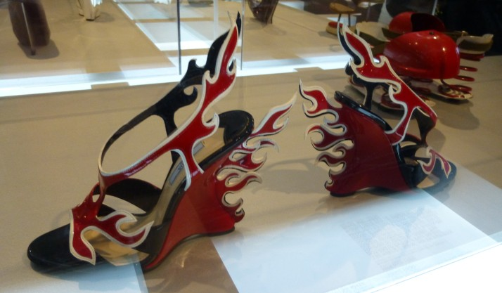 Flaming Shoes