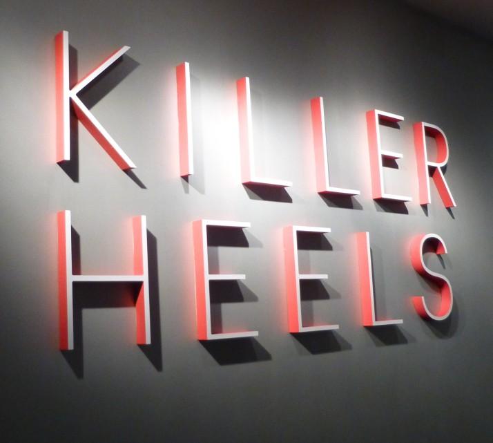 Killer Heels Signage