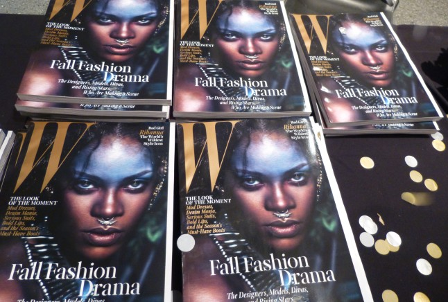 W Mag With Rihanna on the Cover