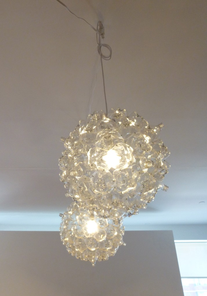 Recycled Plastic Bottle Lamps