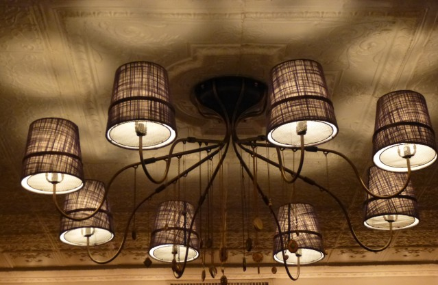 Ceiling Light Fixture Detail