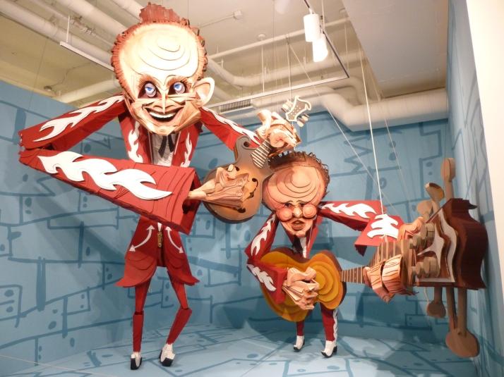 Wayne White Giant Puppets
