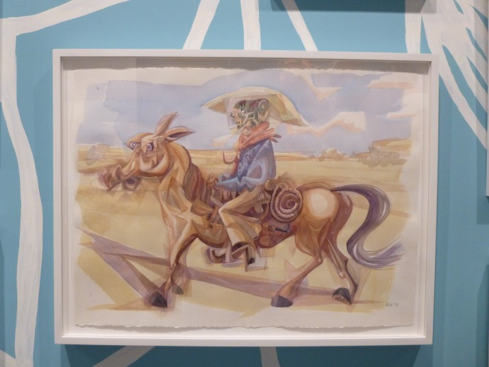 Wayne White Cowboy