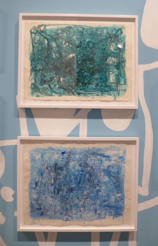 Wayne White Blue Watercolors