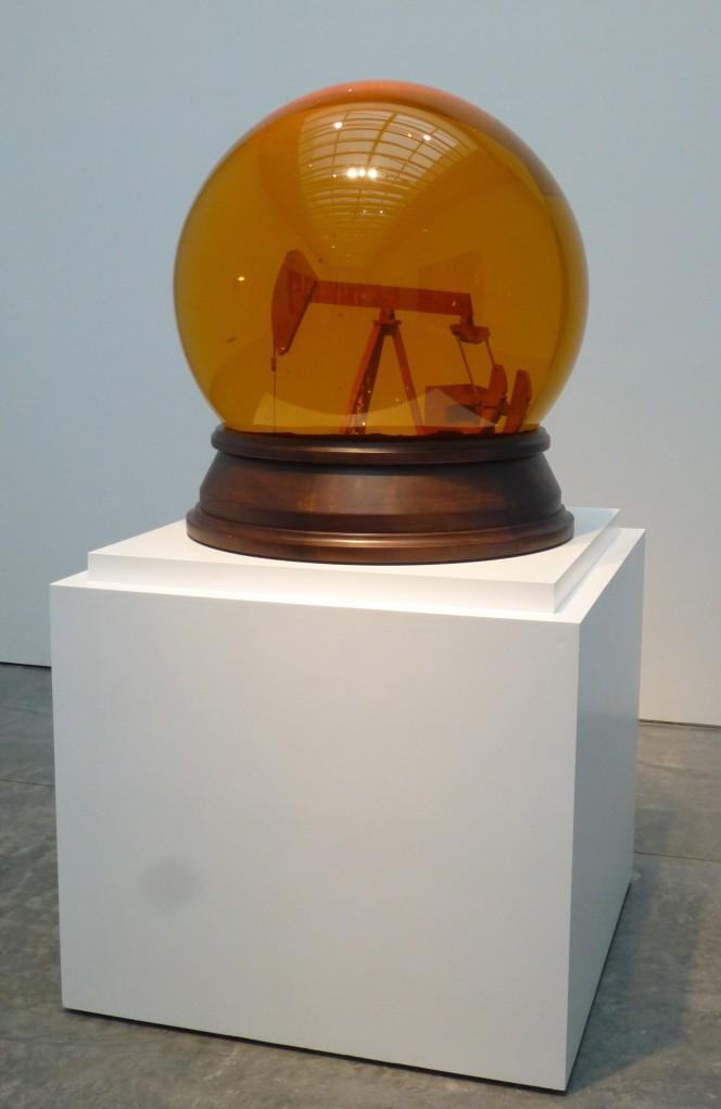 Nir Hod Oil Pump Snow Globe Sculpture