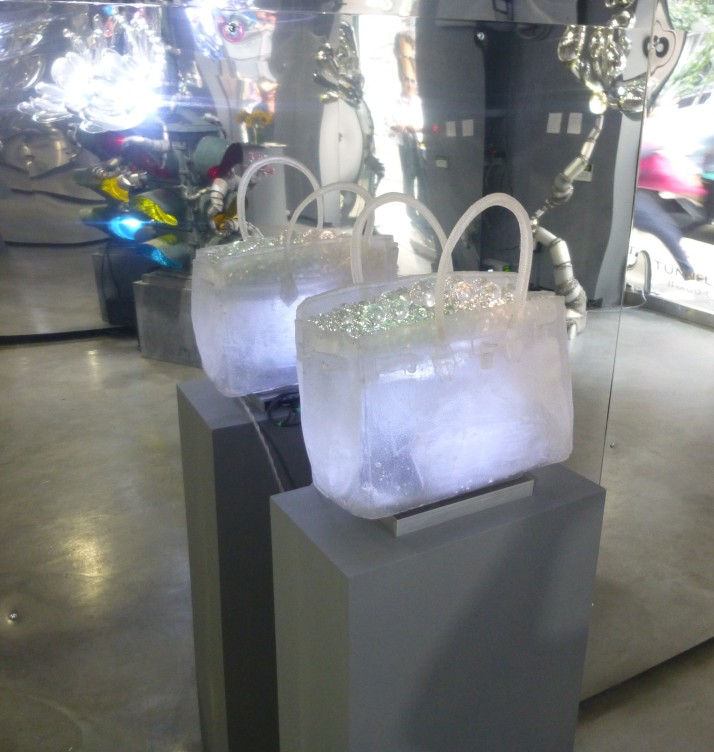 Randy Polombo Crystal Handbag