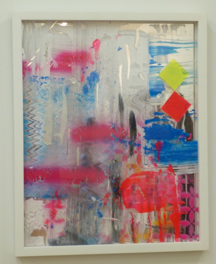 Martin Durazo Painting on Mirror