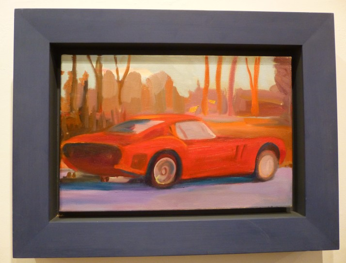Stephen Lack Red Testarossa