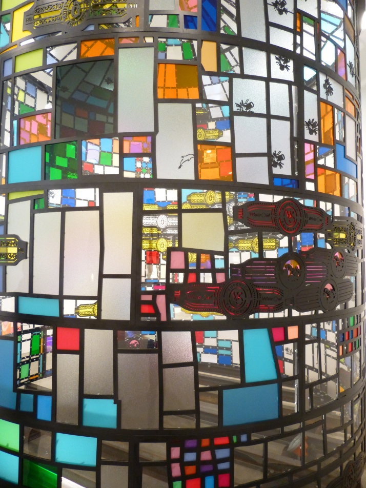 Tom Fruin Water Tower Detail