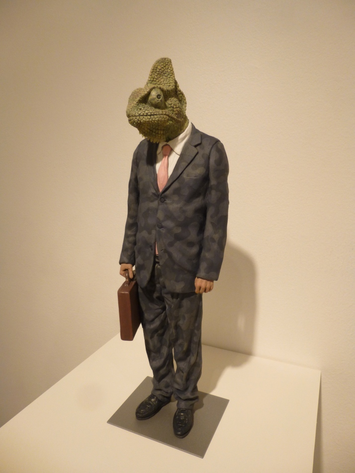 Lizard in a Suit