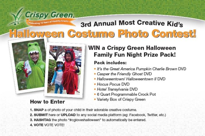 Crispy Green Halloween Costume