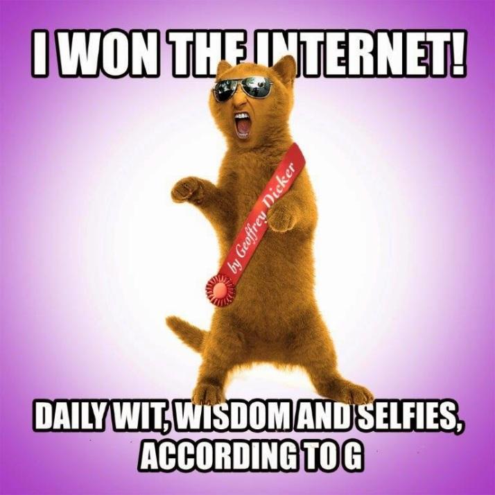 Geoffrey I Won The Internet
