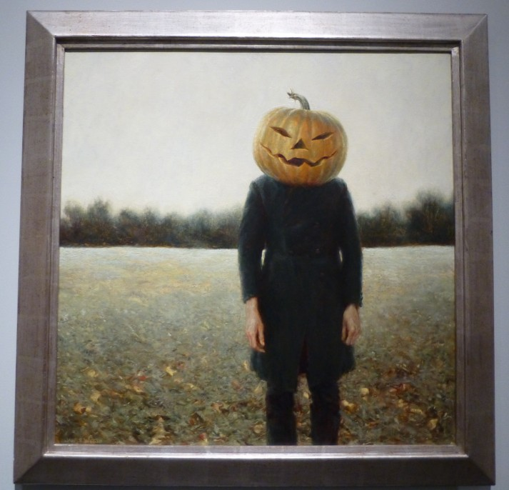 Pumpkinhead Self Portrait