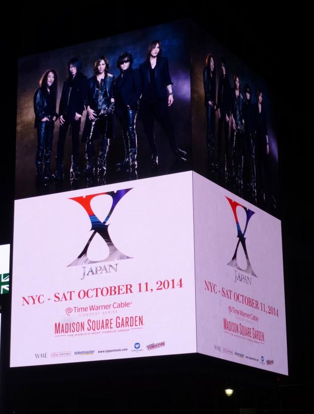 X Japan Billboard