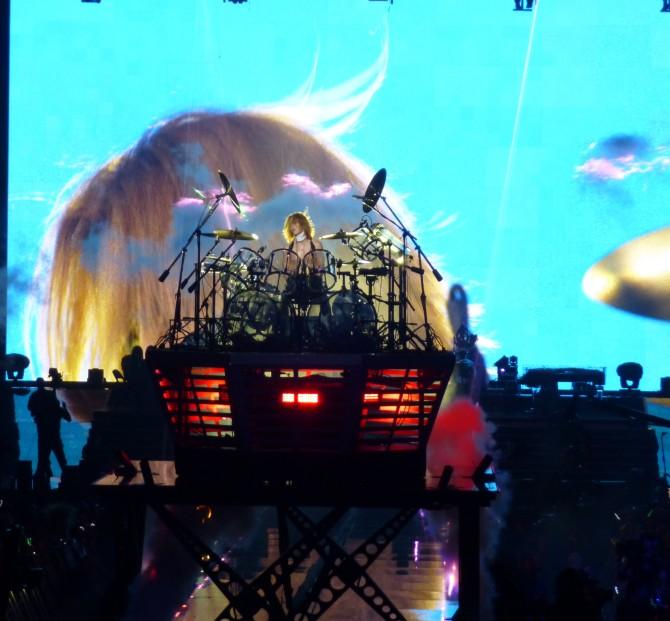 Yoshiki Rising Drum Riser
