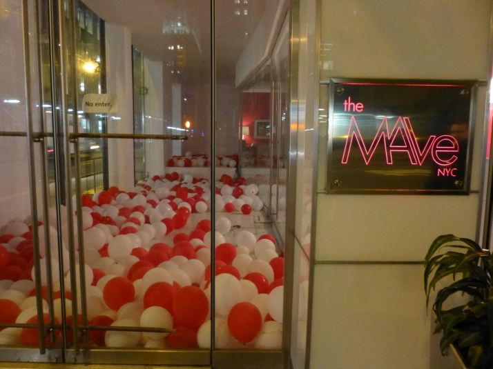 Mave Hotel Lobby Display