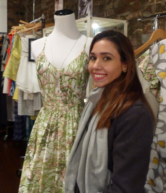 Designer Sofia Arana