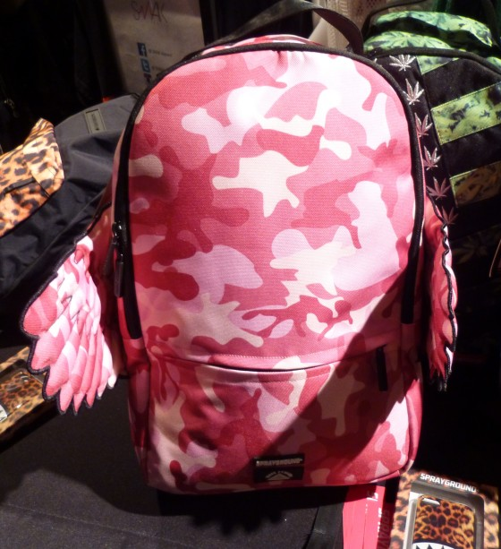 Pink Camo with Wings