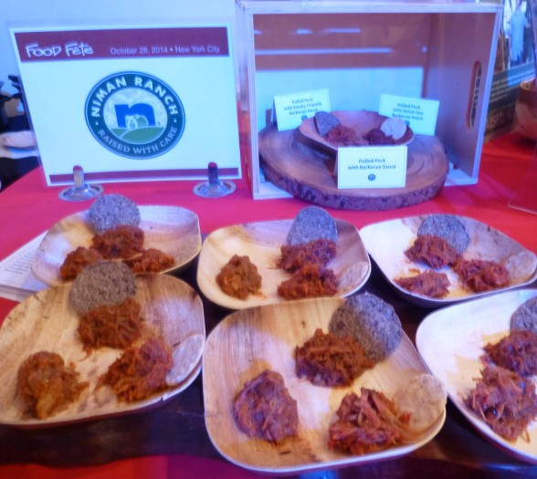 Niman Ranch Pulled Pork Display