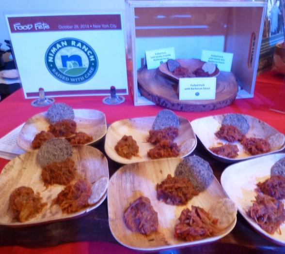 Niman Ranch Pulled Pork Display