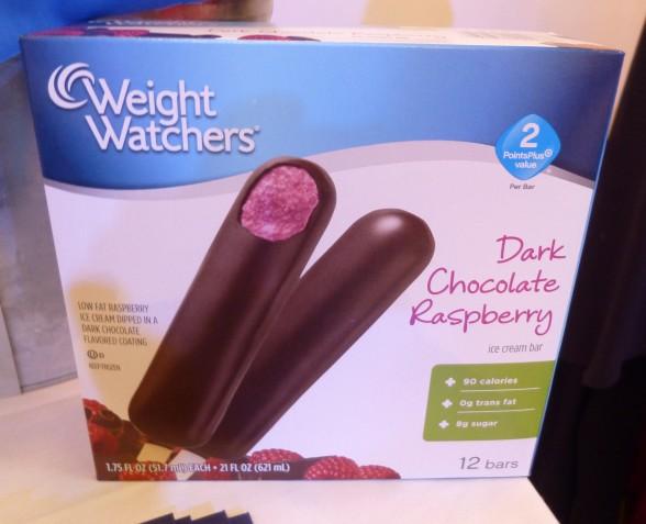 Weight Watchers Dark Chocolate Raspberry Frozen Treat