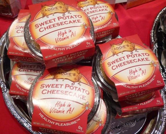 Addie's Sweet Potato Cheese cake