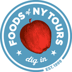 Food Tours of New York Signage