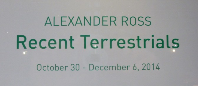 Recent Terrestrials Signage