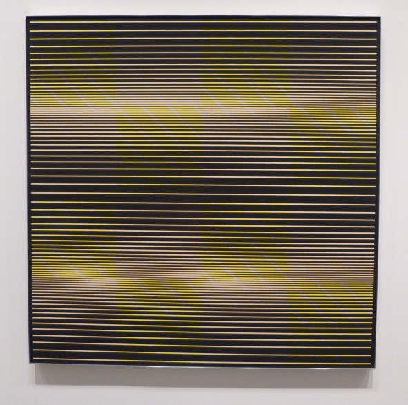 Julian Stanczak Black Test Pattern