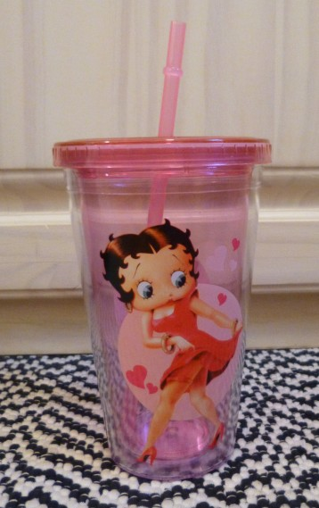 Betty Boop Cold Cup Front
