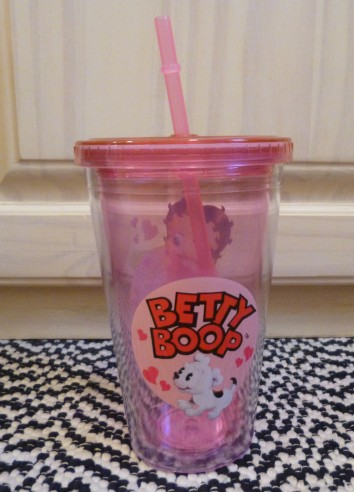 Betty Boop Cold Cup Back